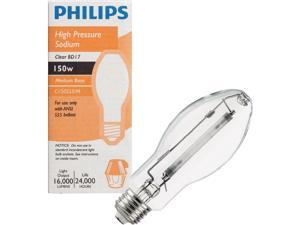 Philips 150W Clear BD17 Medium High-Pressure Sodium High-Intensity Light Bulb