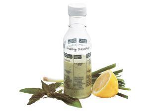 Norpro 11 Oz. Salad Dressing Glass Shaker & Maker 809