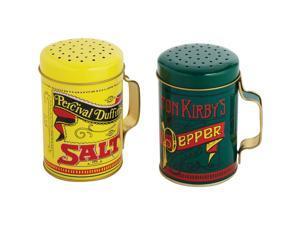 Norpro 10 Oz. Tin Nostalgic Salt & Pepper Shaker Set 713