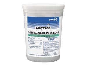 Diversey Disinfectant, 0.50 oz. Packet, Unscented Powder, Concentrated, 2 PK