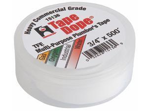 HERCULES 15136 Pipe Thread Sealant Tape,3/4in W,500in L