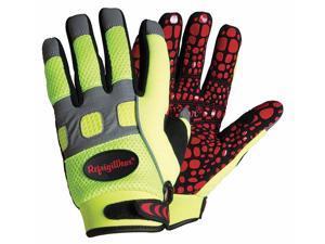Cold Protection Gloves,Fleece Lined,L,Lime REFRIGIWEAR 0379RHVLLAR
