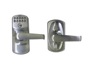 ENTRY KEYPAD LEVER SATIN Schlage Lock Entry Locks FE595CSV PLY/ELAN 043156191895