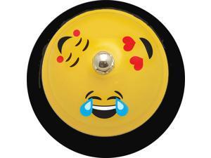 """Ashley Emoji Design 3"""" Base Hand Bell - - Metal - Assorted Color"""