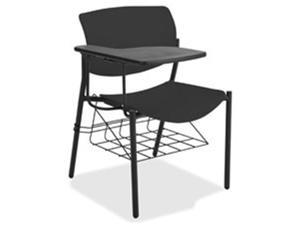 Lorell LLR83118A204 Writing Tablet Student Chairs - Midnight Blue