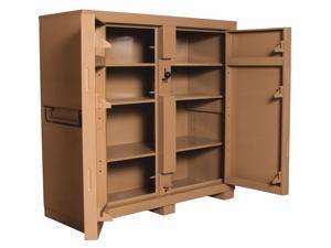 KNAACK 109 60 in x 60 in x 24 in Jobsite Storage Cabinet