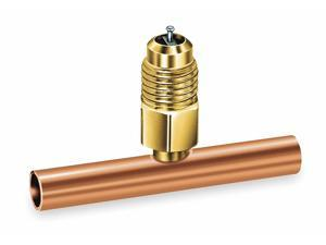 """Jb Industries 1/4"""" Access Valve Tee,  3/4"""" ODS Connection Size,  3"""" Length"""