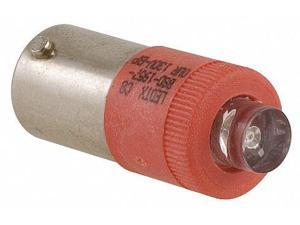 Replacement Lamp, LED, BA9s Base, Red