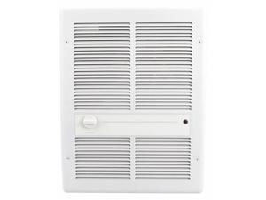 Electric Wall Heater, Recessed or Surface, 208/240VAC, Watts 1125/3000
