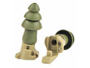 Moldex Ear Plugs, Corded, 24dB, PR  Includes Detachable Cord, Keychain 6498