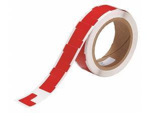 BRADY 121413 Marking Tape,L,1In W,1In L,PK750