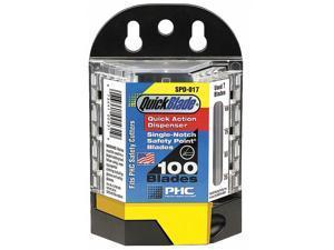 PACIFIC HANDY CUTTER, INC SPD-017 Safety Blades w/Dispenser,PK100