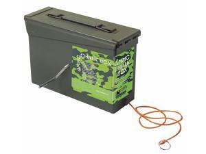 Chalk Line Box, 150 ft, Poly Cord, Camo Grn