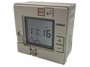 Omron Electronic Timer,7 Days,(2) SPST-NO HAWA H5L-A