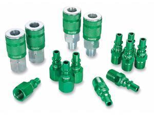 LEGACY A71458B Coupler/Plug Kit,1/4,Steel/Aluminum