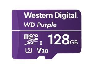 Western Digital 128GB Surveillance microSDXC UHS-I/U3 V30 Memory Card, Speed up to 100MB/s (WDD128G1P0A)