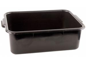 CRESTWARE BT7BK Bus Tub,Polypropylene,Black