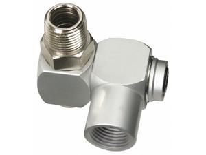LEGACY A9701-X Swivel Connector,3/8 in.,Zinc Plated