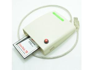 ATA PCMCIA Memory Card Reader Card 68PIN CardBus To USB Adapter converter with the switch and enclosure