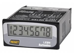 AUTONICS LE8N-BN LCD Counter/Totalizer,LE8N Series,Panel