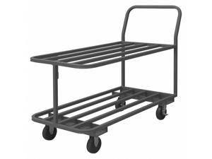 Durham MFG RSC-243630-2-TLD-5PO-95 14 ga Steel Flat Handle Utility Cart 1200