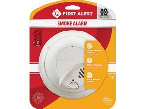 First Alert Hardwired 120V Ionization Smoke Alarm 1039939