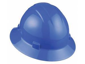 6-pt.Ratchet ERB SAFETY 19913 Hard Hat,Full Brim,Orange