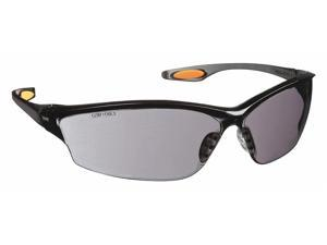 Mcr Safety Law® 2 Scratch-Resistant Safety Glasses , Gray Lens Color   LW212