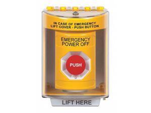 SAFETY TECHNOLOGY INTERNATIONAL SS2271PO-EN Emergency Power Off Push