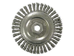 "Dualife Stb-538 Stringer Bead Twist Knot Wire Wheel, 5"" Dia"