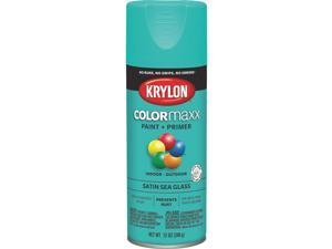Krylon Colormaxx Satin Spray Paint & Primer, Sea Glass K05576007