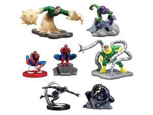 Disney Exclusive Marvel 7Pack SpiderMan Figurine Playset