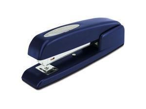 747 Business Full Strip Desk Stapler, 20-Sheet capacity, Royal Blue, Sold as 1 Each
