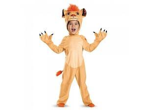 Kion Deluxe Toddler The Lion Guard Disney Costume, Large/4-6