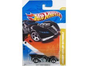 Hot Wheels 24/50 Batman Arkham Asylum Batmobile 1:64 Scale