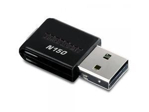 TRENDnet Wireless N 150 Mbps Mini USB 2.0 Adapter,Wi-Fi Compliant with IEEE 802.11n Standard, TEW-648UB