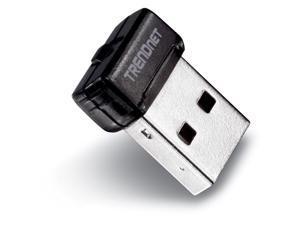 TRENDnet Wireless N 150 Mbps Mini USB 2.0 Adapter, Upgrade your Laptop or Desktop to Wireless N, WPS, QoS, TEW-648UBM