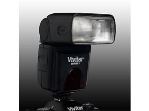 Vivitar VIV-DF-283-CAN Bounce Zoom Swivel DSLR Flash for Canon (Black)