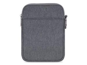 MoKo Sleeve for Kindle Paperwhite / Kindle Voyage, 6-Inch Nylon Cover Pouch Bag for Kindle Paperwhite / Voyage / All-New Kindle(8th Generation, 2016) / Kindle Oasis E-Reader, Dark Gray
