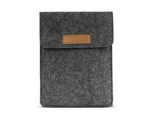 MoKo Sleeve for Kindle Paperwhite / Kindle Voyage, Protective Felt Cover Case Pouch Bag for Kindle Paperwhite / Voyage / Kindle(8th Gen, 2016) / Kindle Oasis 6-Inch E-Reader, Dark Gray