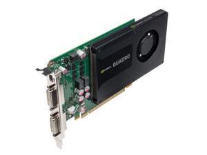 nvidia quadro k2000d 2gb gddr5 graphics card pny part #: vcqk2000dpb