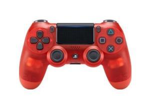 sony dualshock 4 wireless controller for playstation 4  red crystal  playstation 4