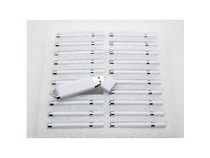 20 8gb flash drive  bulk pack  usb 2.0 snapcap design in white
