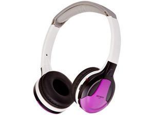 XO Vision Universal IR in Car Entertainment Wireless Foldable Headphones, Purple