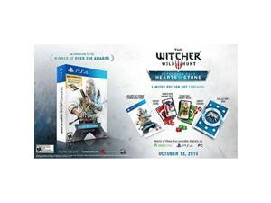 the witcher 3 hearts of stone limited edition expansion with gwent decks gamestop exclusive