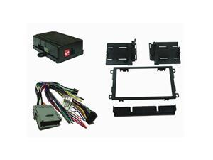 crux dkgm48d crux dkgm48d radio replacement with swc retention & ddin dash kit for gm class ii vehicles