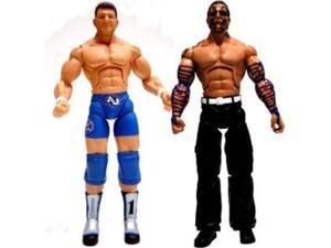 TNA Wrestling Cross the Line Series 3 Action Figure 2Pack AJ Styles Jeff Hardy