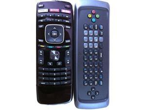 New! Original VIZIO XRT302 Qwerty keyboard remote for M650VSE M550VSE M470VSE M-GO TV internet TV---60 days warranty!