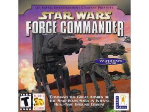 star wars: force commander jewel case  pc