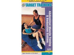 target training: abdominal muscle toning & reduction system tony little vhs